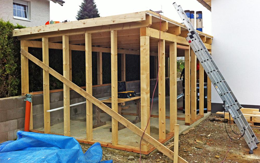 Holzrahmenbau - Dachtechnik Gerhards